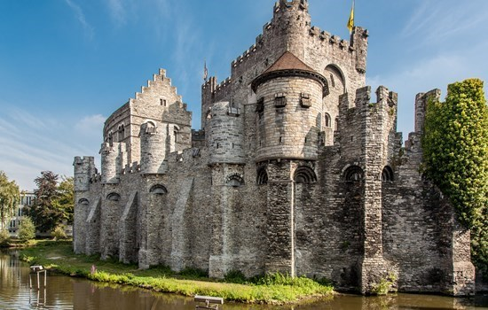 Medieval Castle of the Counts in Ghent, Belgium